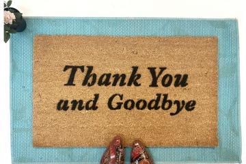 Frasier Thank you and Goodbye funny tv meme damn good doormat