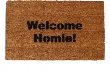 Welcome Homie™ funny door mat  doormat eco friendly Home