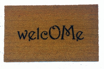 welcOMe zen yoga doormat