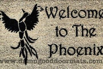 welcome to the Phoenix firebird doormat