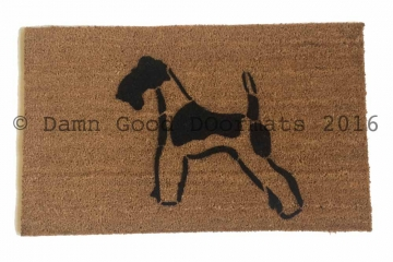 Wire Terrier doormat