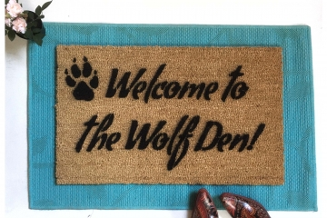 Welcome to the Wolf Den! doormat