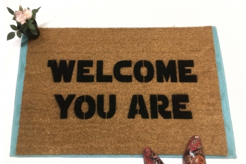 Star Wars Yoda Welcome you are™ funny doormat