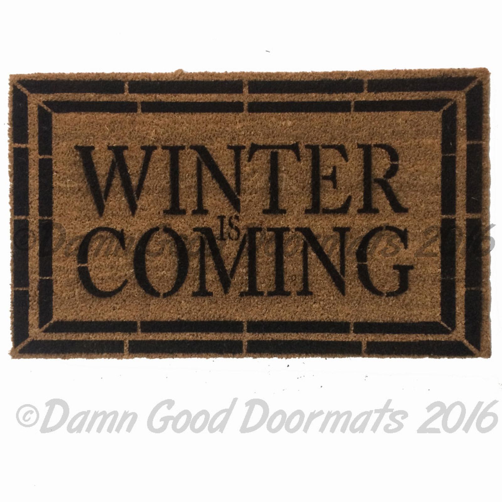 Hodor Game Of Thrones Doormat Damn Good Doormats