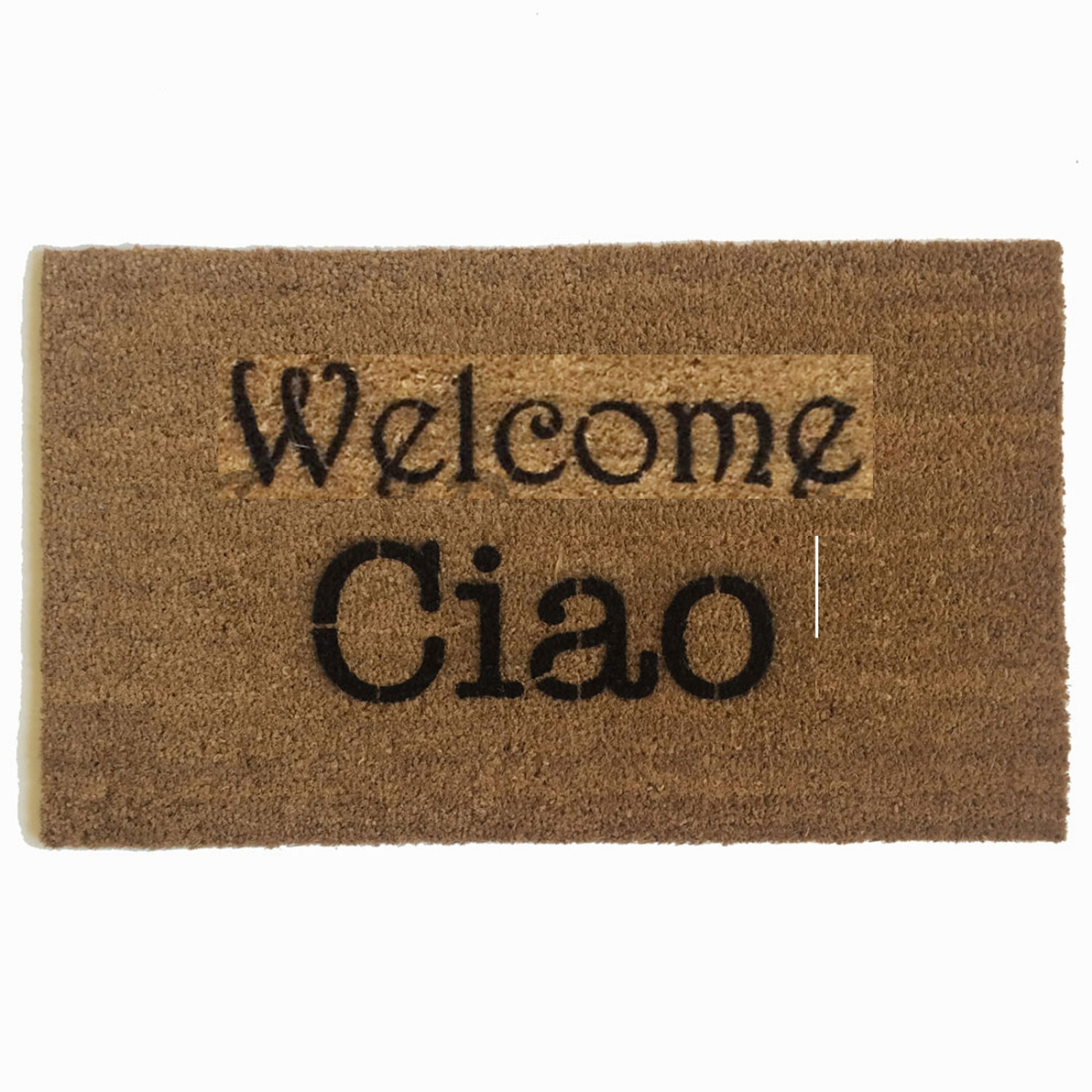 Italians Rejoice Ciao Doormat Damn Good Doormats