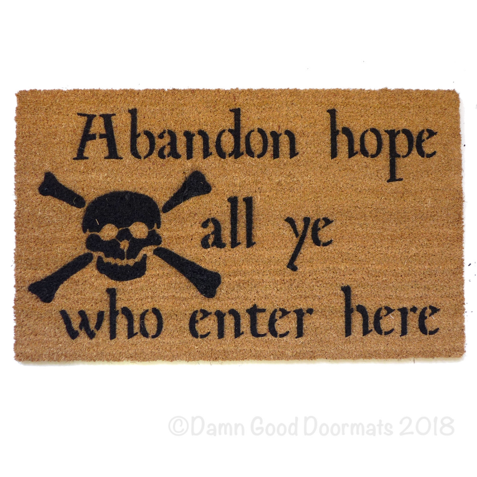 Abandon Hope All Ye Who Enter Here Dante Skull And Bones
