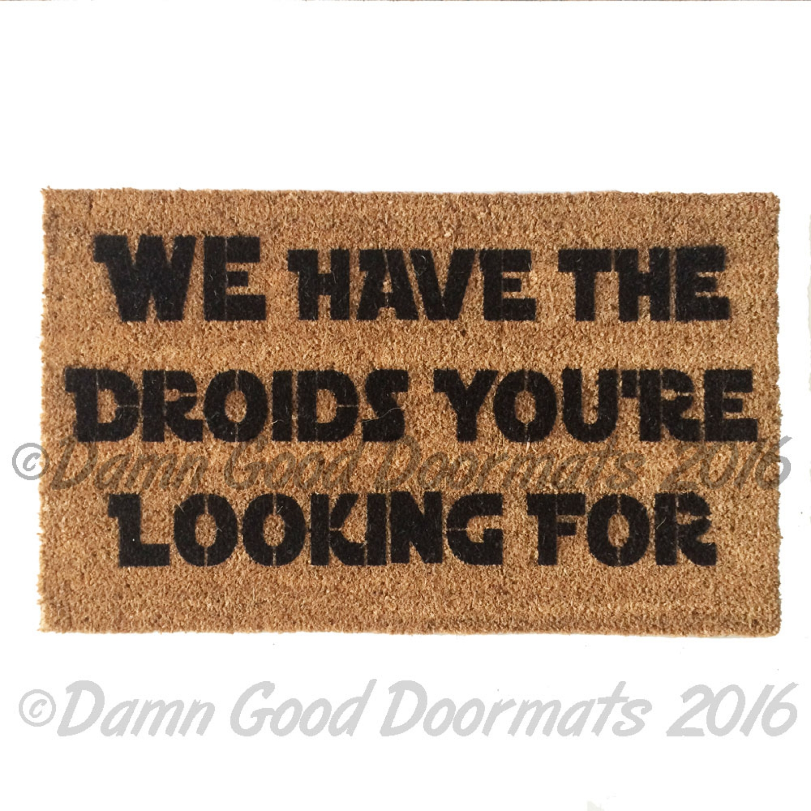 Star Wars Sith Happens Dark Jedi Nerd Doormat Damn Good