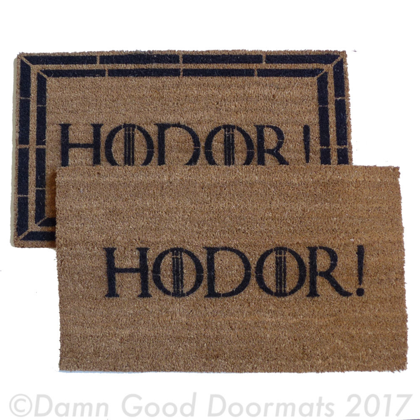 Hodor Game Of Thrones Doormat Damn Good Doormats