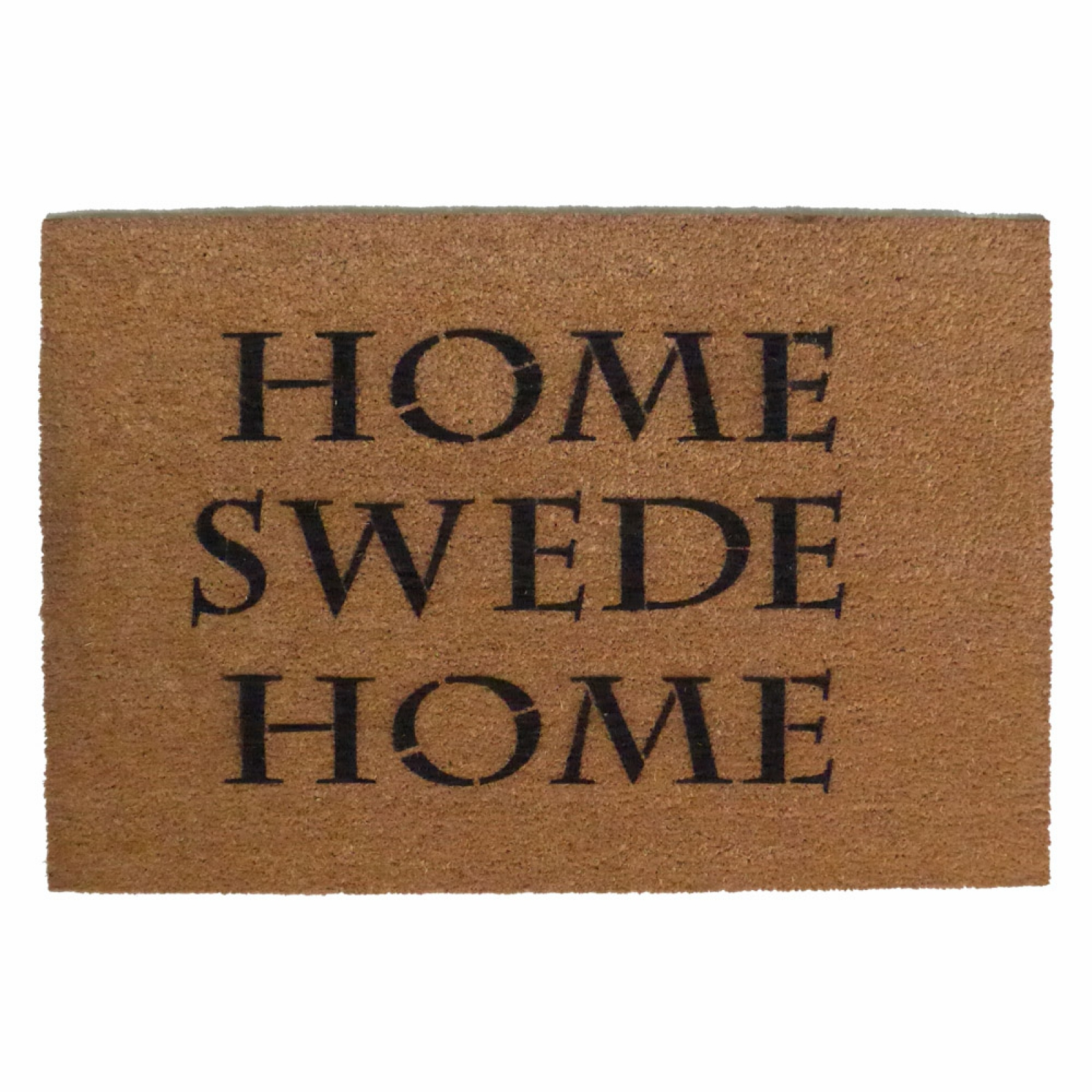 V 228 Lkommen Swedish Welcome Doormat With Dala Horse
