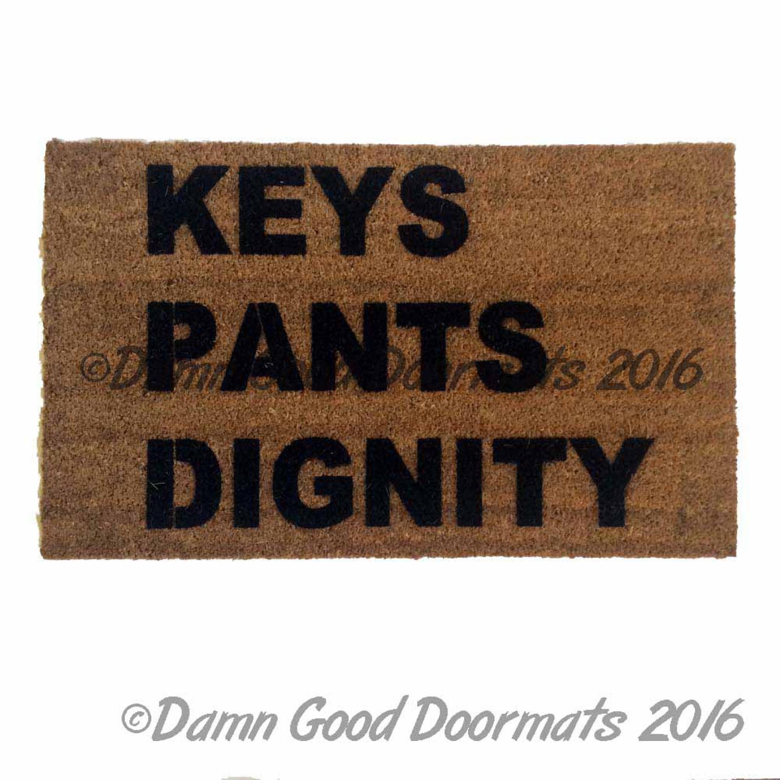 Keys Wallet Cell Phone Doormat World S Most Useful