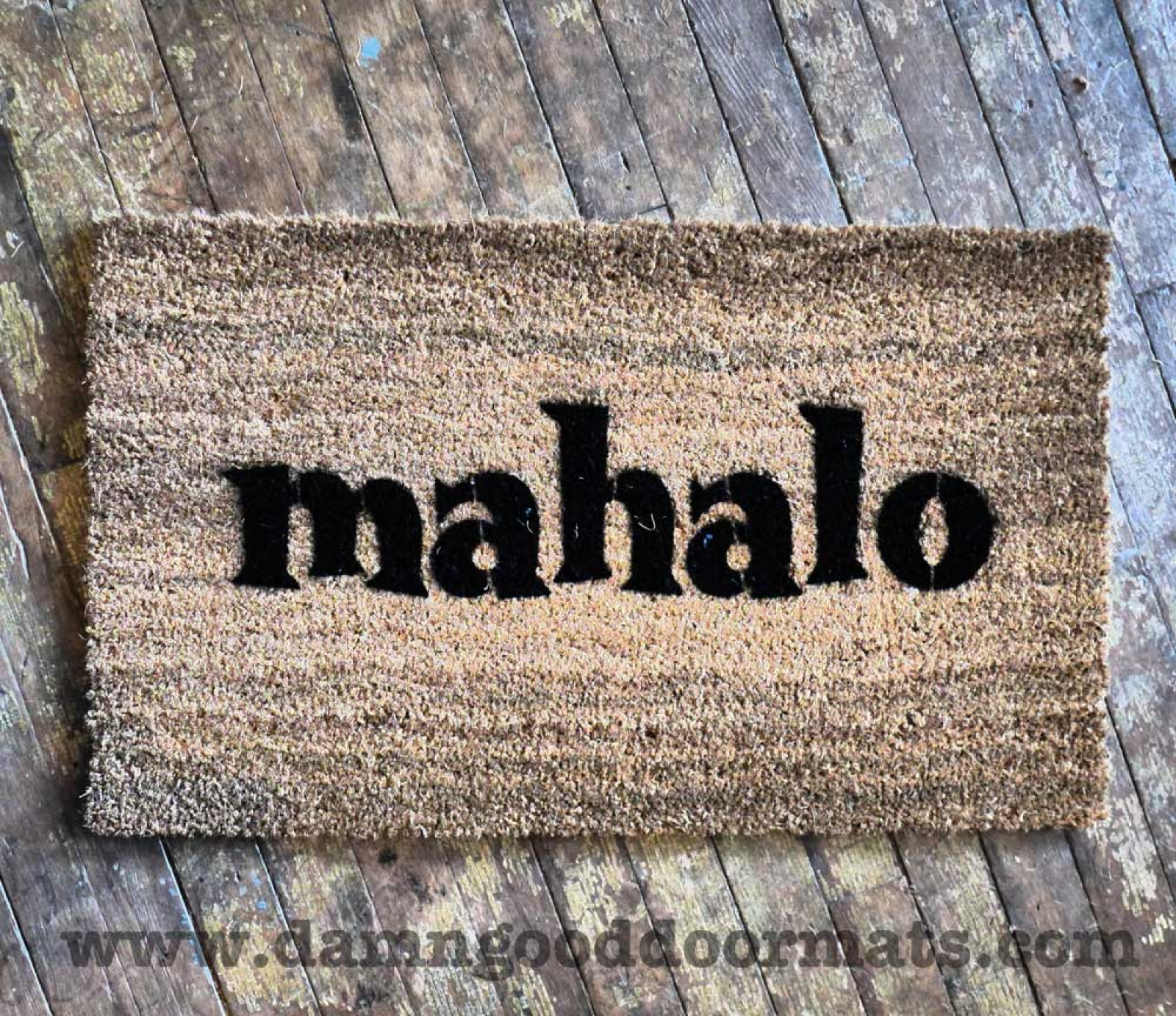 Aloha Tiki Monsters This Doormat Is Perfect For Your Luau