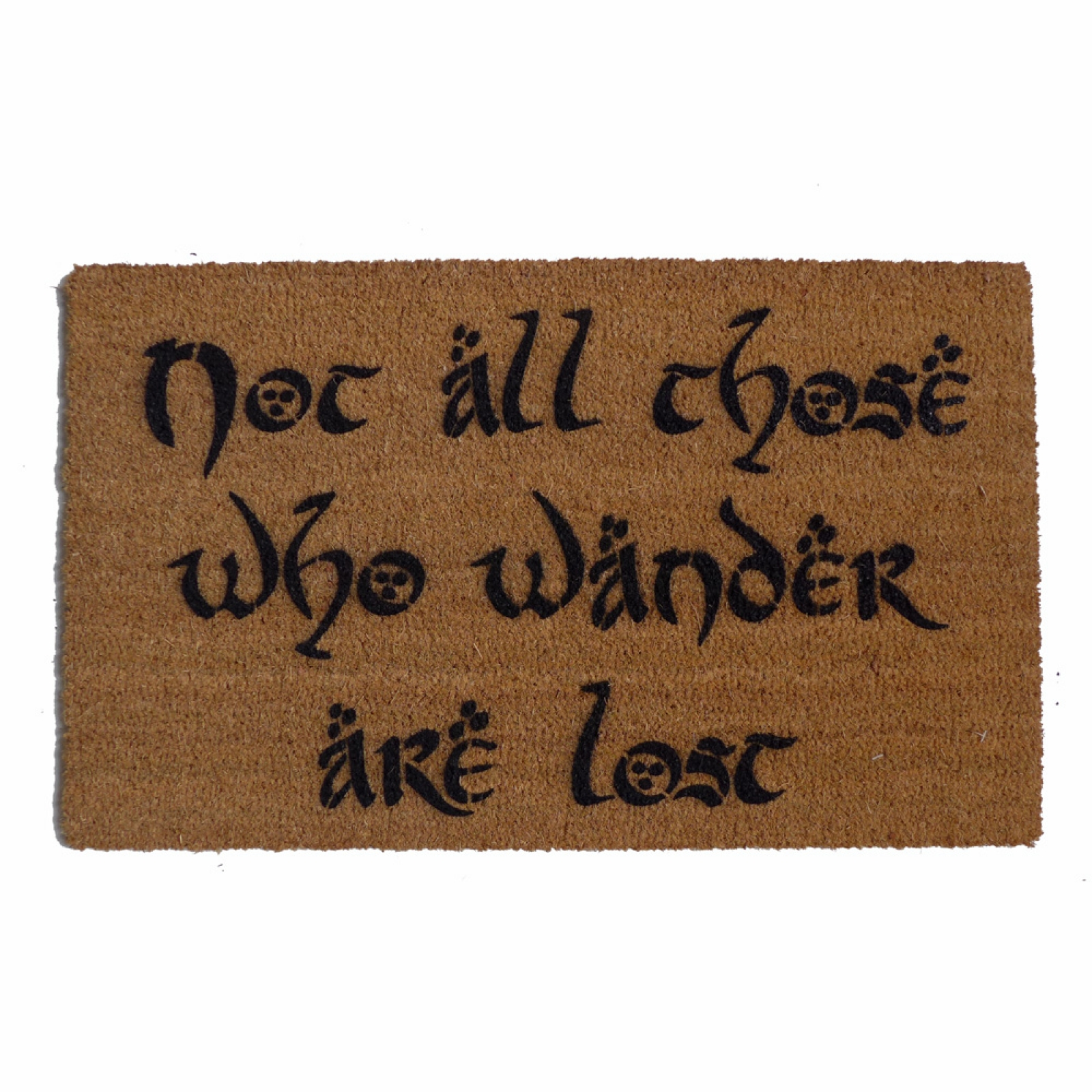 Jrr Tolkien Not All Those Who Wander Are Lost Nerd Doormat