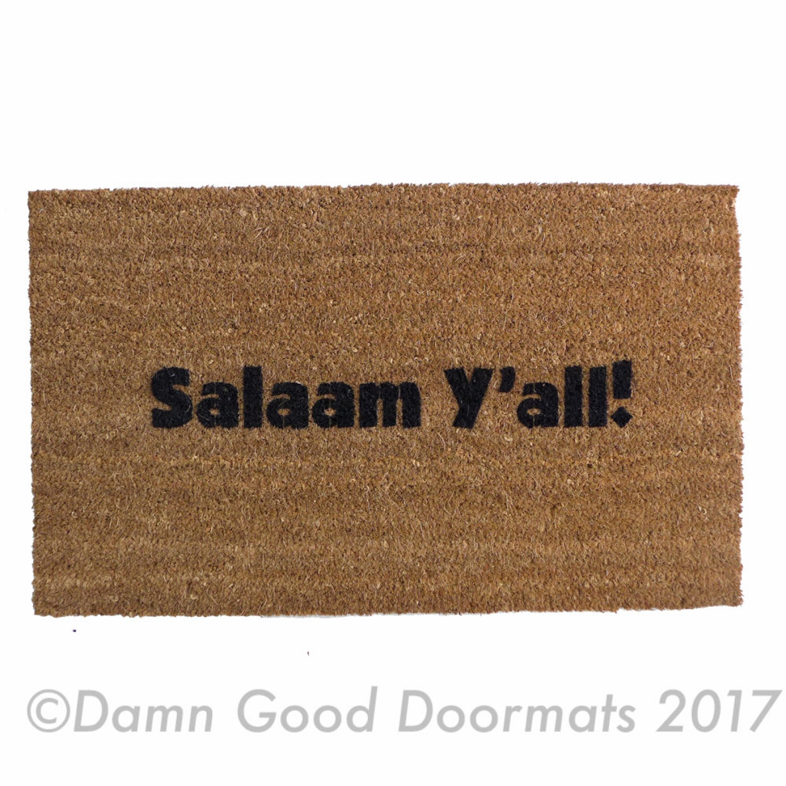 Arabic Welcome Doormat Ahlan Wa Sahlan Eid Al Adha Door