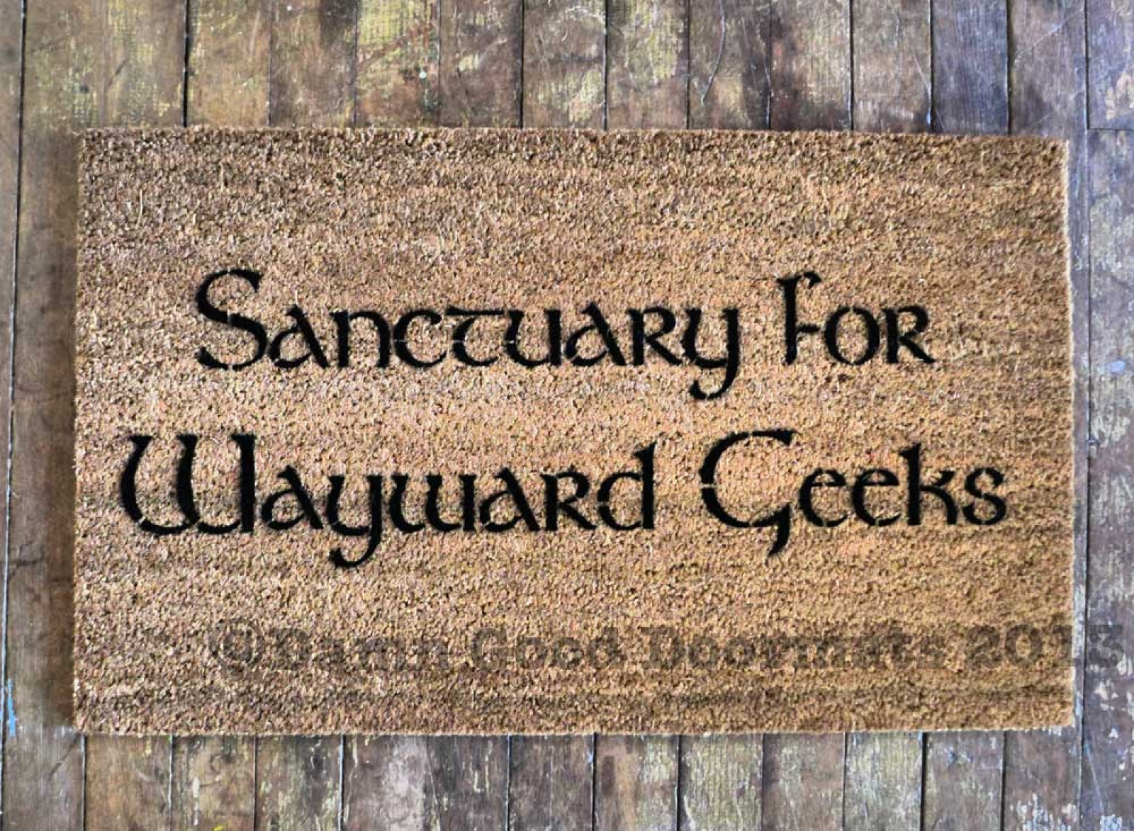 Binary welcome home doormat super nerd computer geek damn good doormats - Geeky doormats ...