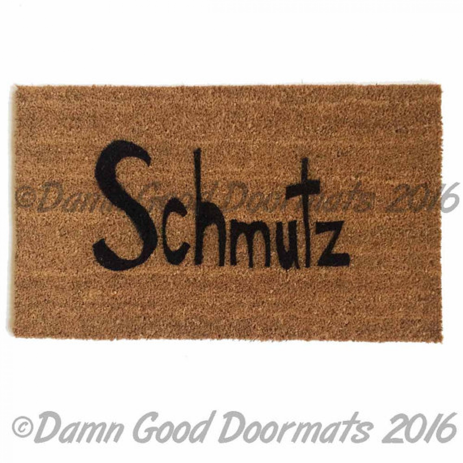 Dog Rug To Catch Dirt: Shalom Y'all™ Jewish Novelty Welcome Doormat By Damn Good
