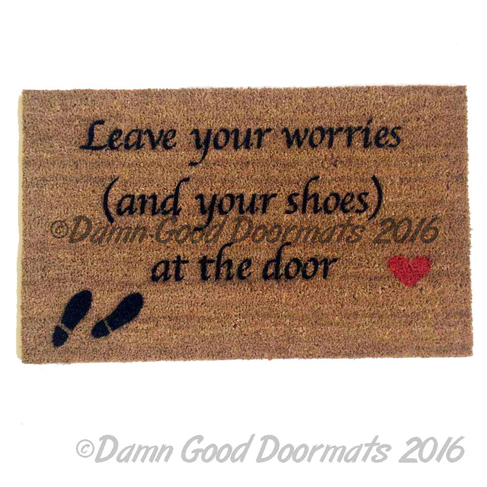 Script Leave Your Worries And Your Shoes At The Door