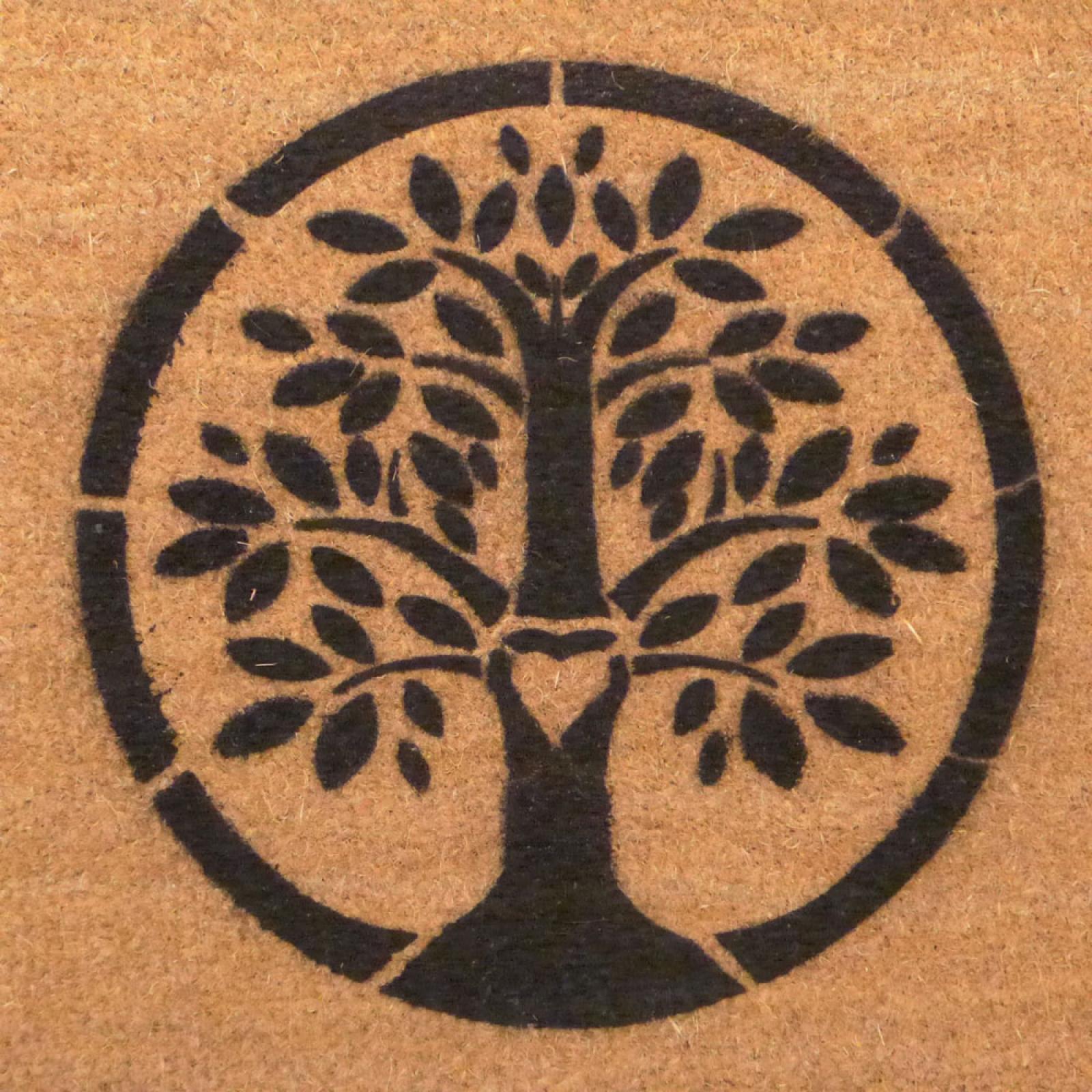 Eco Friendly Tree Of Life Doormat