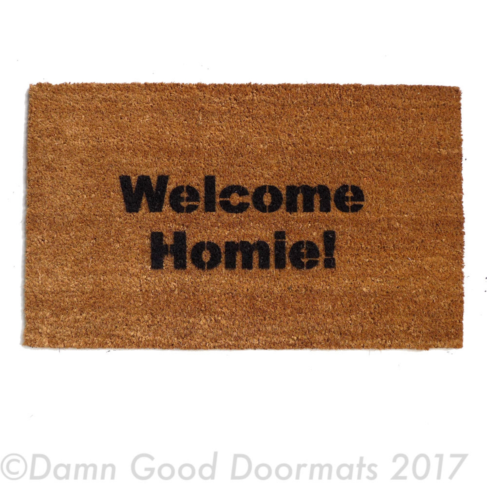 Welcome Homie Funny Door Mat Doormat Eco Friendly Home