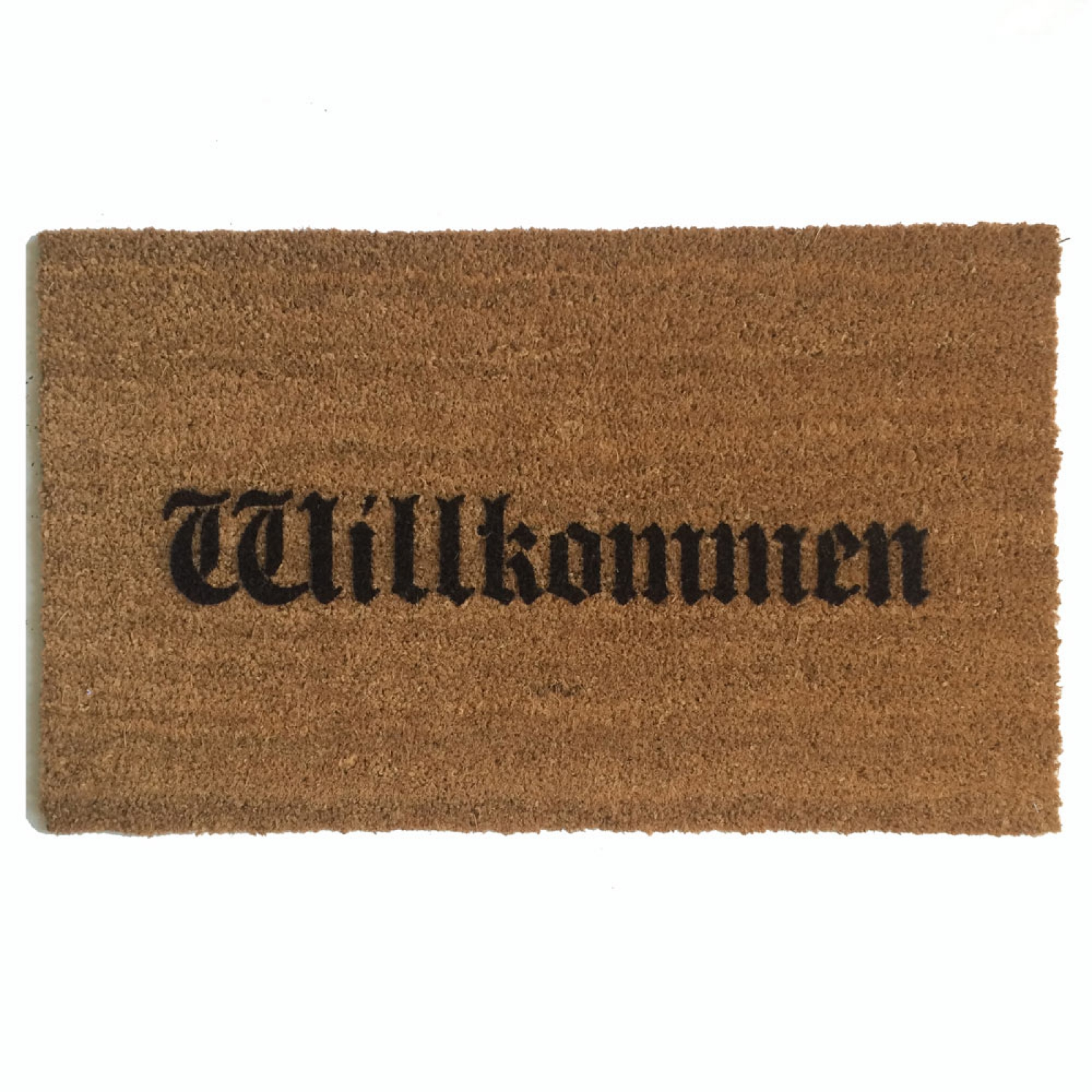 Willkommen Doormat Quot Welcome In Quot In German Damn Good Doormats