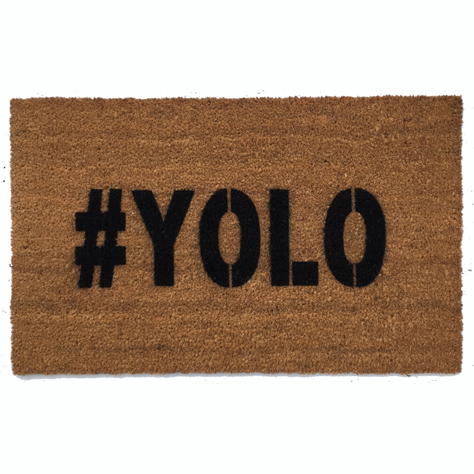 YOLO You Only Live Once Mantra Doormat