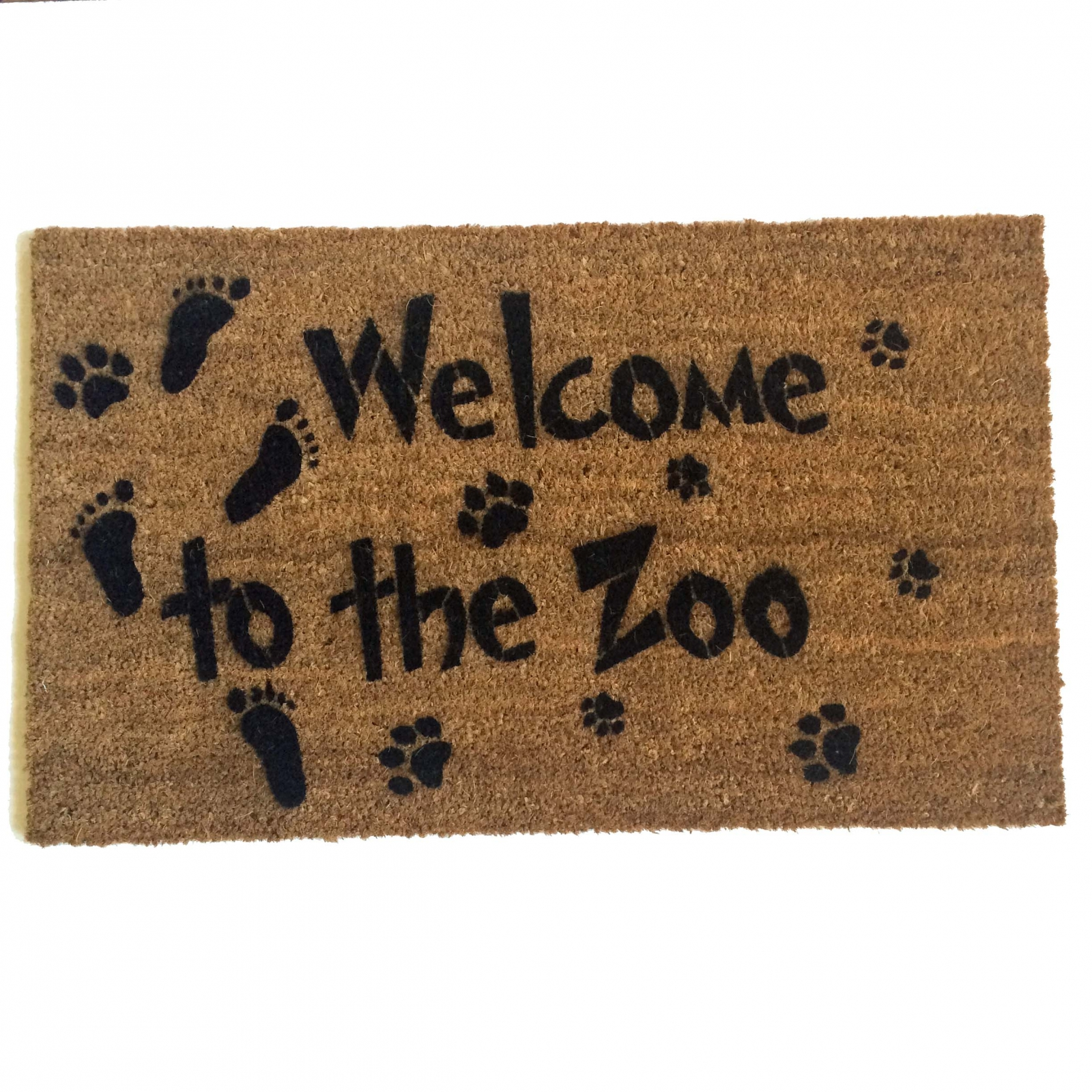 welcome cat art mat mats door leave jb jimbobart a style astyle living
