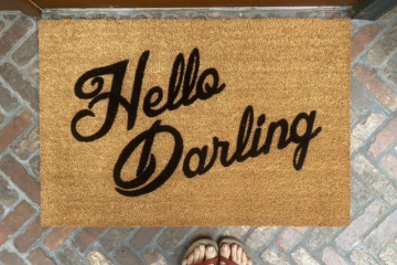Hello Darling! Vanderpump Rules doormat