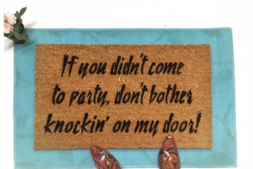 Prince 1999 If you didn't come to party, -Purple rain doormat
