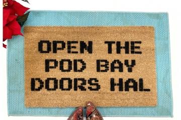 Space Odyssey: 2001 open the Pod Bay doors, Hal doormat