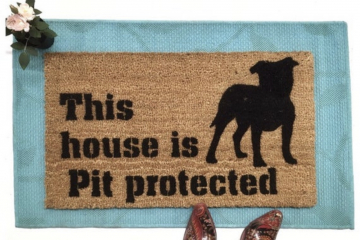 This house is Pit Bull protected™ Pitbull