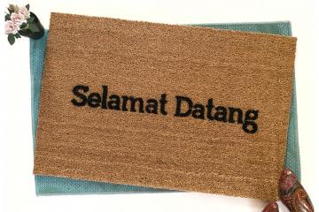 Selamat Datang- Indonesian Welcome