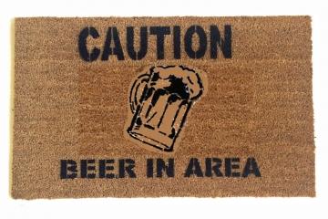 Caution: Beer in area