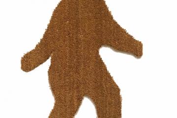 BIGFOOT Sasquatch outdoor doormat