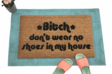 Funny Gifts Fuck Off Doormat Housewarming Gift No Soliciting Sign Funny Doormat Funny Welcome Mat Rude Doormat Go Away Door Mat