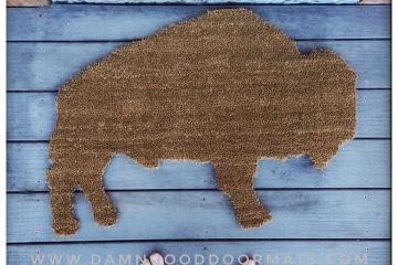 Buffalo doormat