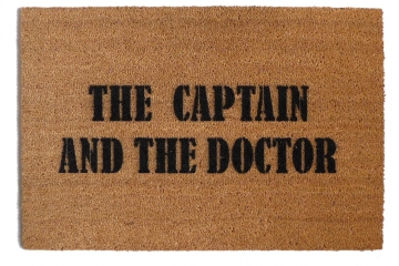 THE CAPTAIN AND THE DOCTOR  doormat