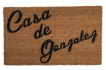 Custom Personalized name Casa de _ Spanish doormat