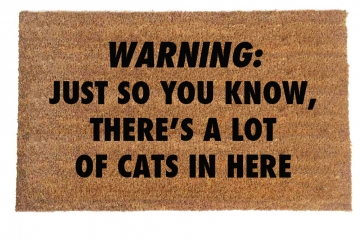 CATS Warning: Just so you know, there's a lot of cats in here™