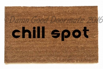 chill spot™ marijuana weed pot doormat