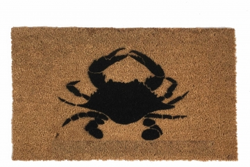 Crab nautical doormat