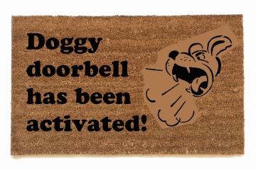 Doggy doorbell
