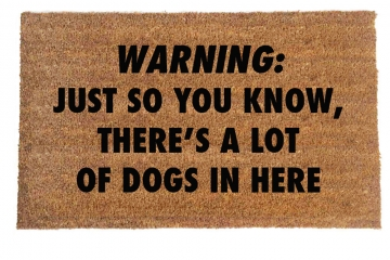 DOGS Warning: Just so you know, there's a lot of cats in here™
