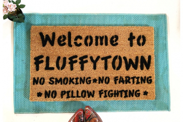 Welcome to FLUFFYTOWN Community doormat