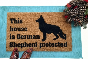 Protected by German Shepard