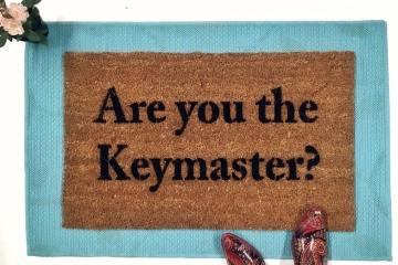 Keymaster Ghostbusters doormat