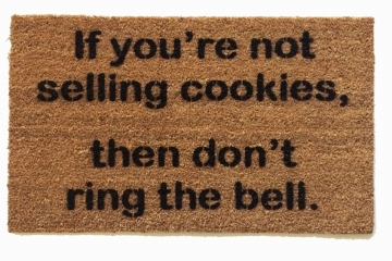 not selling cookies- don't ring bell™