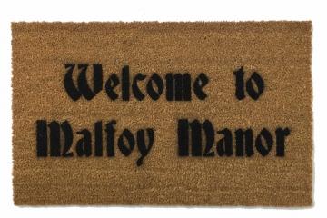 Welcome to Malfoy Manor, Harry Potter doormat