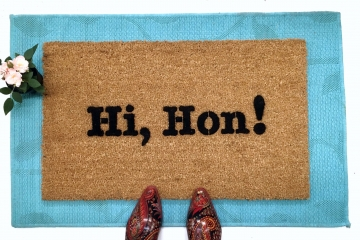 Hi, Hon! Baltimore Maryland doormat
