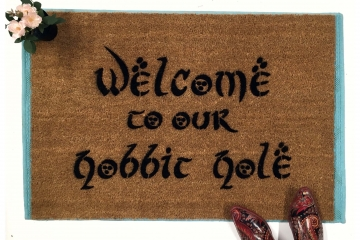 Welcome to OUR H@bbit Hole JRR Tolkien nerd doormat