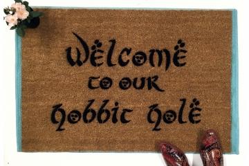Welcome to OUR H@bbit Hole JRR Tolkien nerd doormat