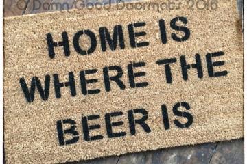 Home is where the BEER is doormat